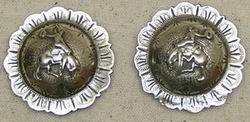 S & P Bronc Conchos Left/Right