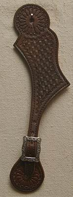 #339 Leather Spur Strap