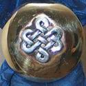 Four Corner Celtic Knot Concho
