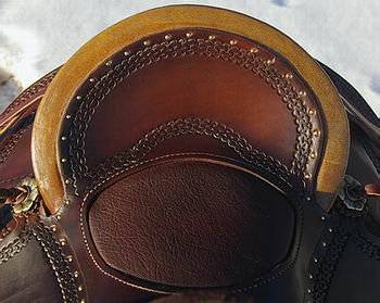 RH Vaquero Wade Saddle