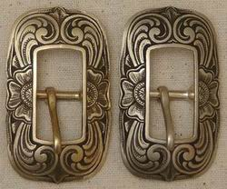 John Mincer Center Bar Buckle Brass/Bronze