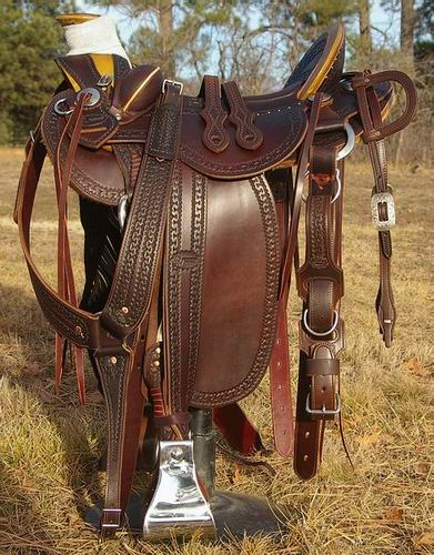 Out West Saddlery Stock Saddles
