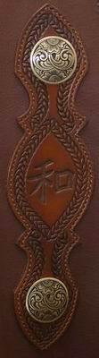 #232 Chinks - Clinician Heidi Potter JM #15 Bronze Conchos