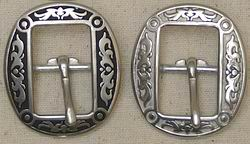 Jeremiah Watt 4010 Oval Center Bar Buckles