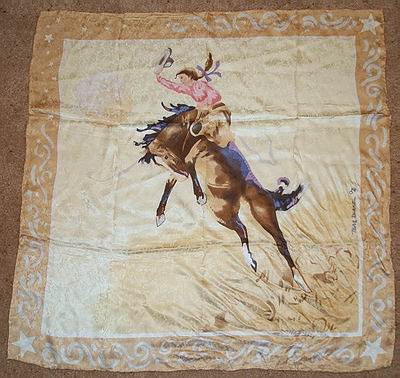 Limited Edition Blake Tan Cowboy Wild Rags