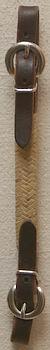 Plain rawhide curb strap