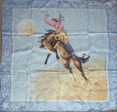 Limited Edition Blake Blue Cowboy Wild Rags