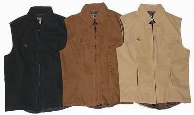 womens canvas vests