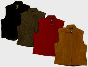 womens wool vests