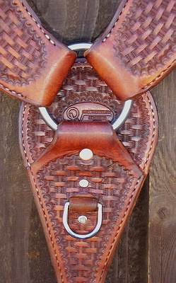 Breast Collar Heavy Roper Style #20
