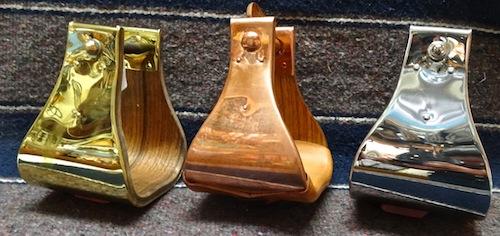 Brass, Copper & Stainless Weber Stirrups