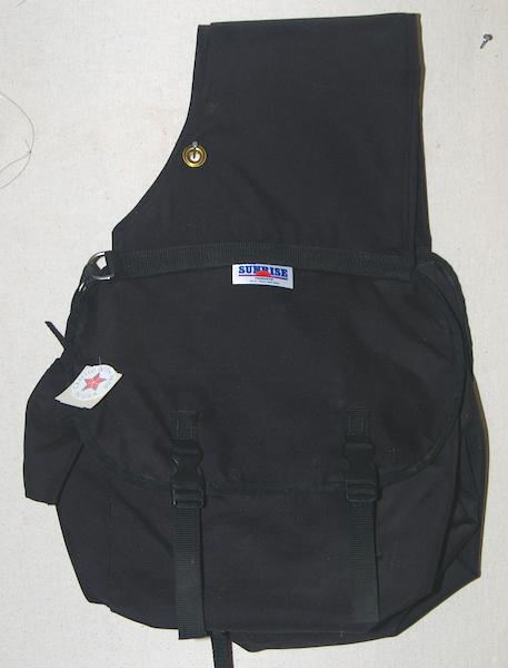 Large Canvas Saddle Bags