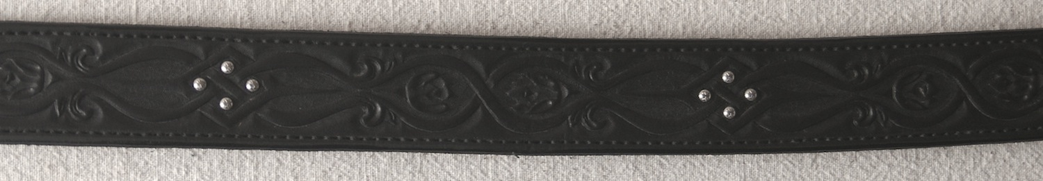 #35 Belt Terri Beecher Blk Celtic d