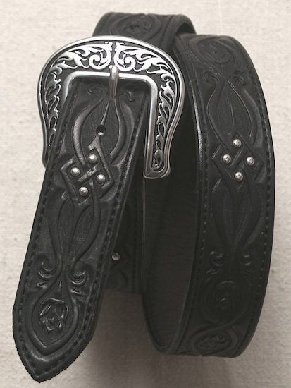 #35 Belt Terri Beecher Blk Celtic