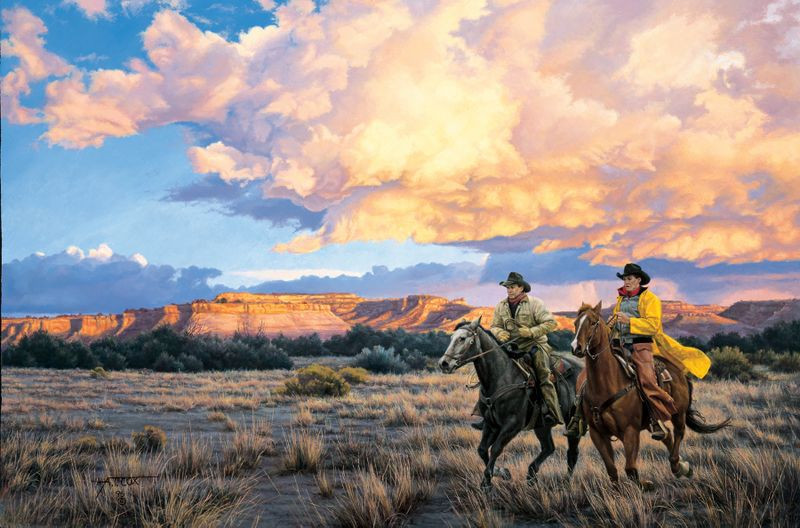 King Ranch Texas >> Western Art Depicting Ranch and Western Life