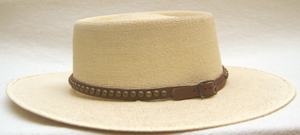 Leather Hat Band with Metal Spots SUN  24.00. Only 1 Left! 6d823811e39a