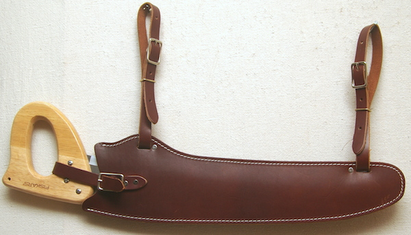 Fanno Saw & Leather Scabbard