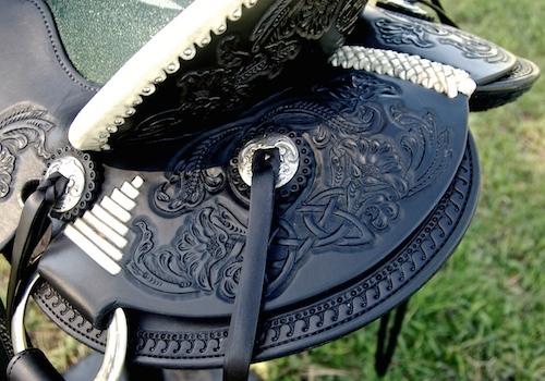 #1 ER Celtic Ray 3B Visalia Saddle
