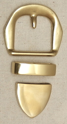 Jeremiah Watt Paul's Brass Buckle