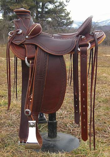 Out West Saddlery Stock Saddles