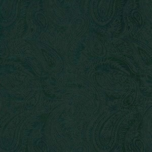 Austin Accents Forest Green Jacquard Western Scarf 100% Silk Scarf