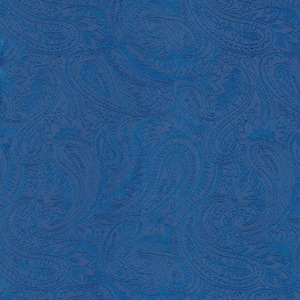 Austin Accents Royal Blue Jacquard 100% Silk Scarf