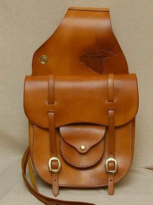 Custom Saddle Bag