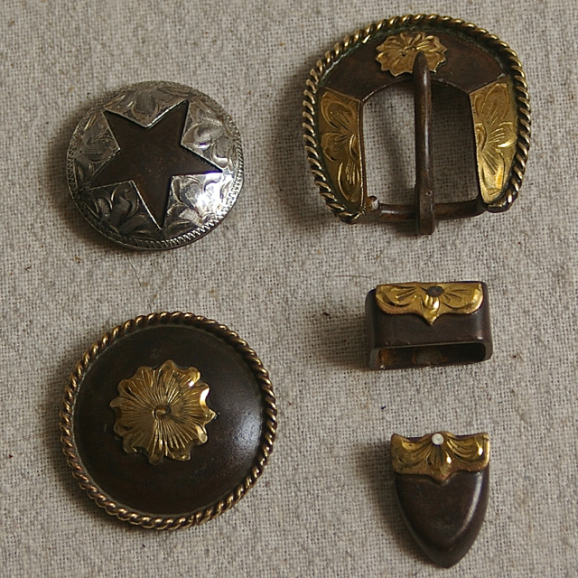 Conchos And Buckles