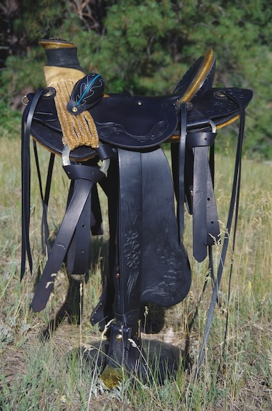 "#84 ""Hawaiian Vaquero Wade"" Saddle"
