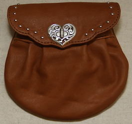 Leather Horse Treat Bag