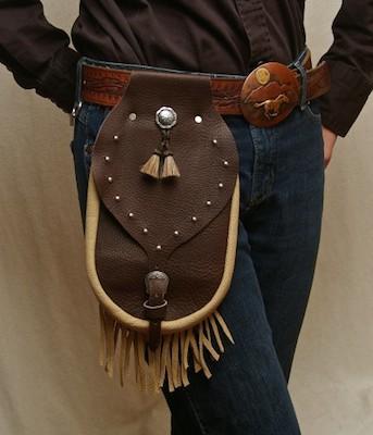 Leather Belt Bag/Purse