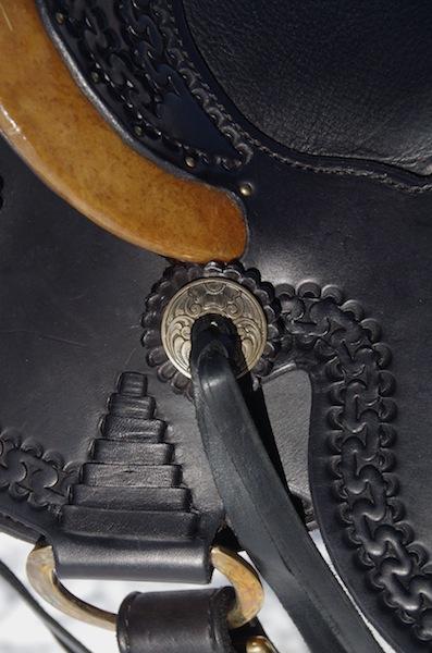 Small Black Wade Saddle