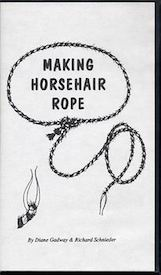 Making Horsehair Rope