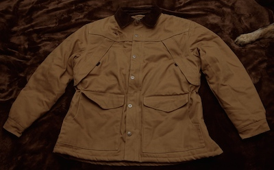 New Tan Wyoming Traders Ranch Coat