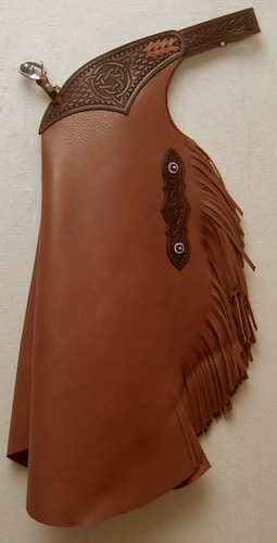 Brown Celtic Leather Chinks