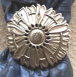 Jeremiah Watt Daisy Bronze Scarf Slide