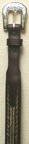 30 Dark Brown Belt