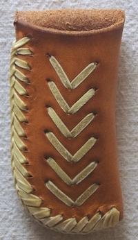 #32 Leather Knife Holder