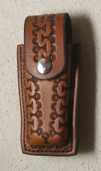 #35 Leather Knife Holder