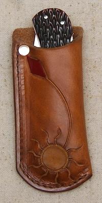#36 Leather Knife Holder