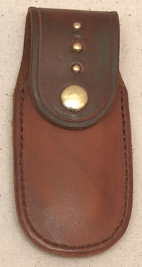 Out West Saddlery Knife Leatherman Case