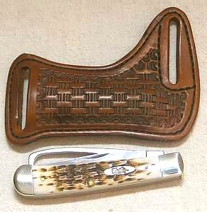 Case Equestrian Hoof Pick Knife Sheath