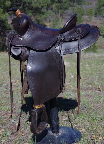 EJ Keller Collector Western Saddle
