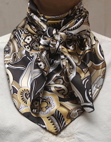 Cowboy Images Gold Black Cream