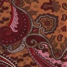 Cowboy Images Copper Paisley