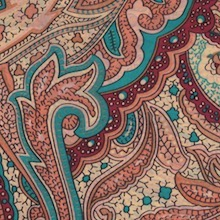 Cowboy Images Spring Paisley