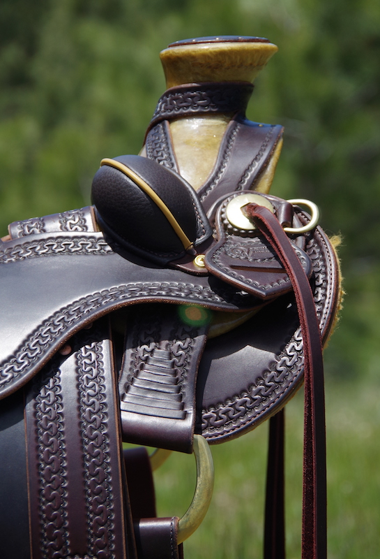 "Out West Saddlery Stock Saddle For Sale DOA 16"""