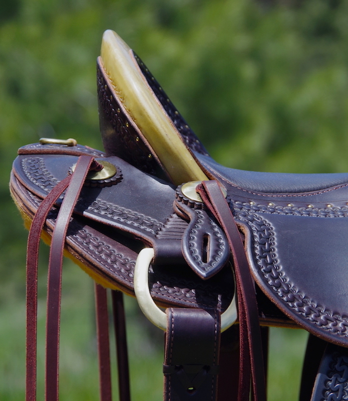 Out West Saddlery Stock Saddle For Sale 16