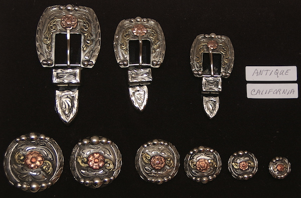 Hansen's California Antique Conchos and Buckles