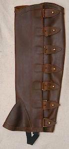 #1 Portuguese Style Leather Half Chap